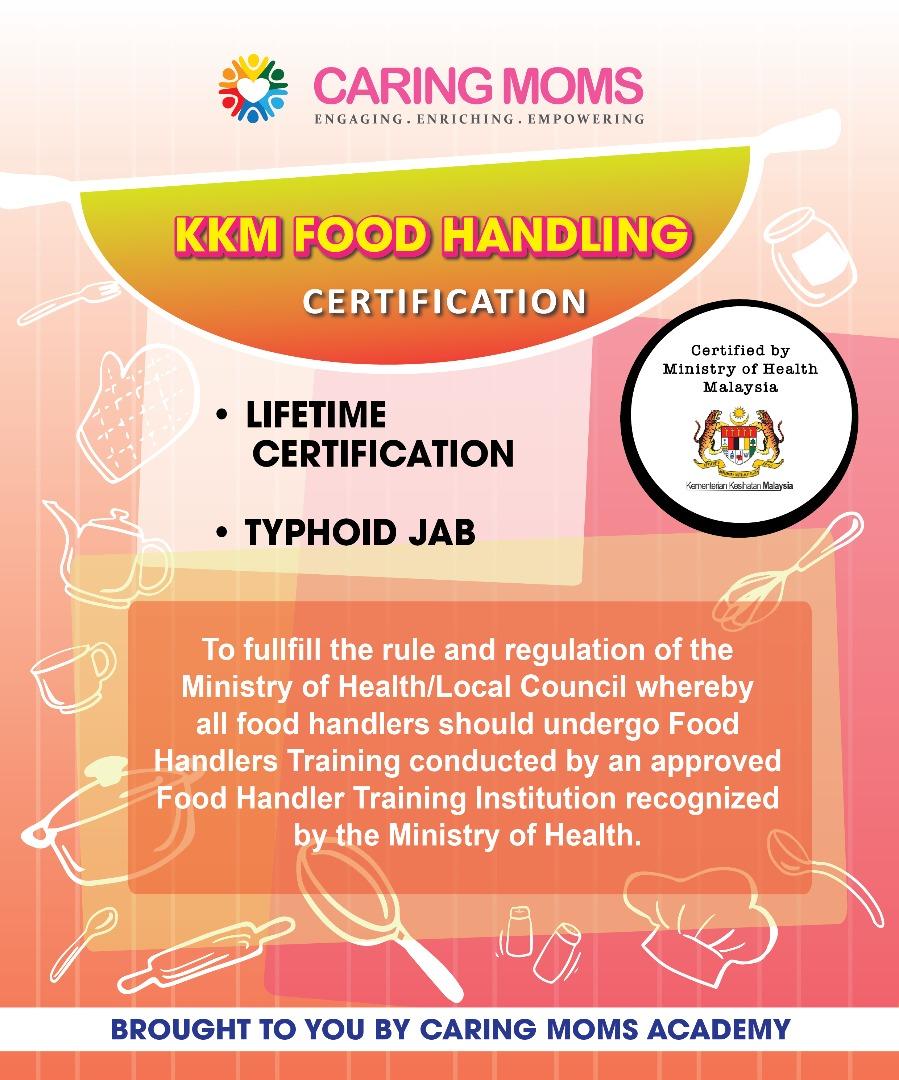 KKM Food Handling Certification Course 16 August 2018