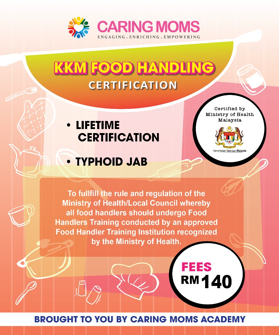 KKM Food Handling Certification Session