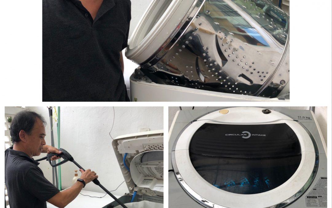 Top Load Washing machine Maintenance Cleaning