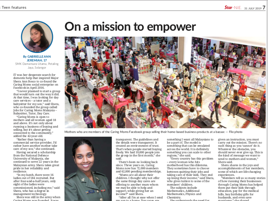 On a mission to empower