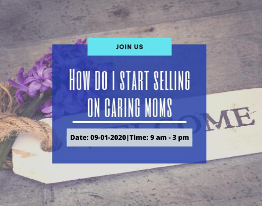 how to sell on CARING MOMS