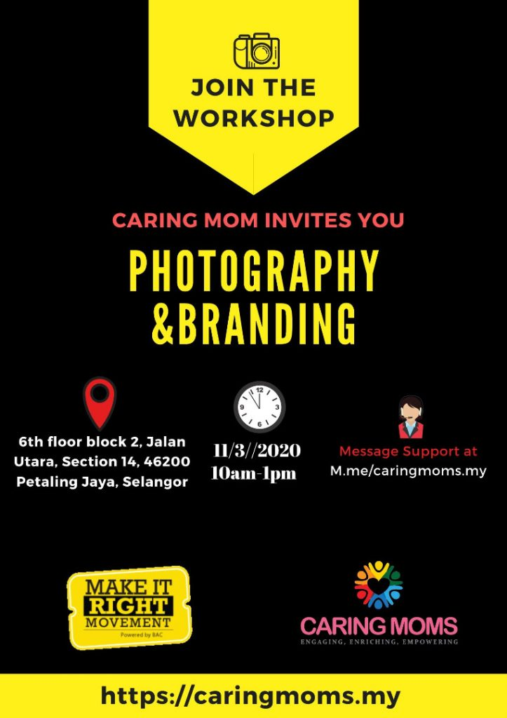 Photography and Branding Workshop 1