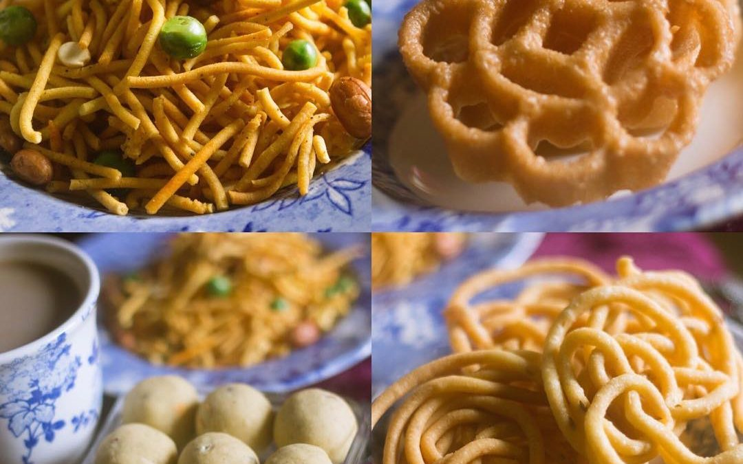 Homemade Crunchy Murukkus & Melt In The Mouth Ghee Balls (Nei Urundei)