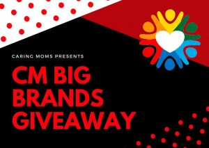 CARING MOMS Big Brands Giveaway