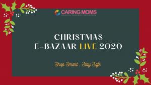 CARING MOMS Christmas E-Bazaar Live 2020