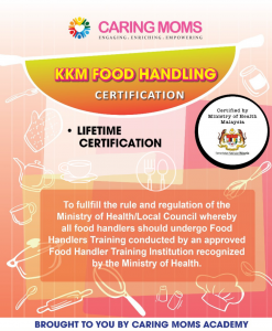 KKM Food Handling Certification Course